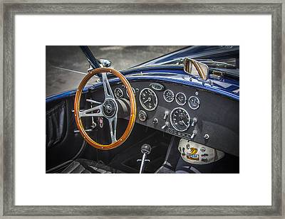 1965 Ford Ac Cobra 427 Framed Print by Rich Franco