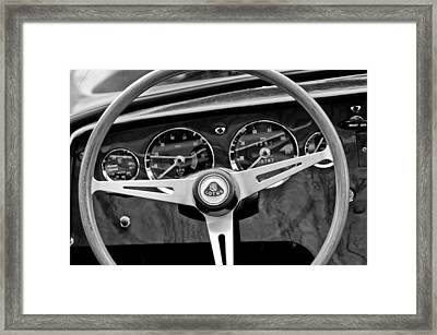 1965 Lotus Elan S2 Steering Wheel Emblem Framed Print by Jill Reger