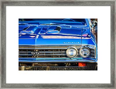 1967 Chevrolet Chevelle Super Sport  Framed Print by Jill Reger