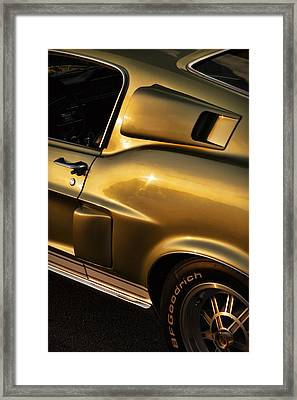 1968 Ford Mustang Shelby Gt 350 Framed Print by Gordon Dean II