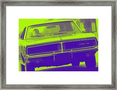 1969 Dodge Charger Framed Print