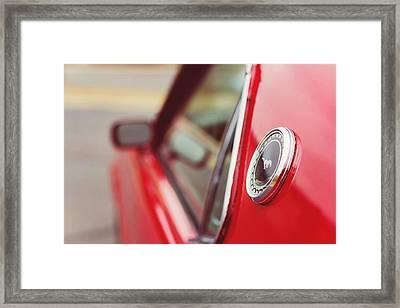 1969 Ford Mach I Framed Print