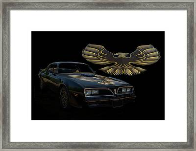 1978 Pontiac Trans Am  Framed Print