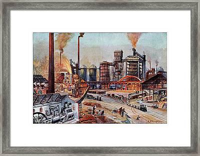 19th Century Ironworks Framed Print