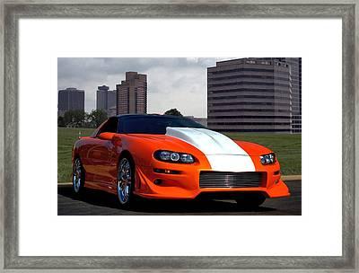 2002 Camaro Z28 Framed Print by Tim McCullough