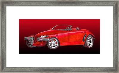 2002 Plymouth Prowler Framed Print by Jack Pumphrey