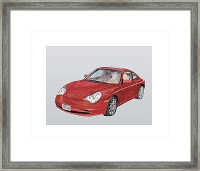 2002 Porsche 996  Framed Print by Jack Pumphrey