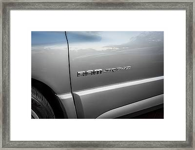 2004 Dodge Ram Srt 10 Viper Truck Painted  Framed Print by Rich Franco