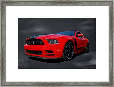 2013 Mustang Boss 302 Framed Print