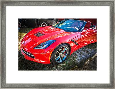 2014 Chevrolet Corvette C7 Convertible Framed Print