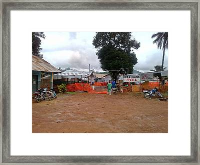 2014 Ebola Virus Disease Outbreak Framed Print
