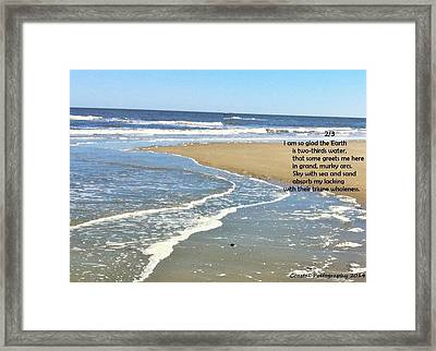 2/3 Framed Print by Catherine Favole-Gruber