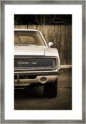 '68 Charger  Framed Print