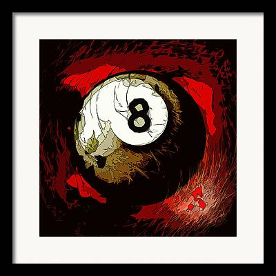 9 Ball Framed Prints