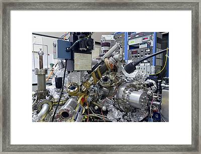 'a Boy And His Atom' Framed Print