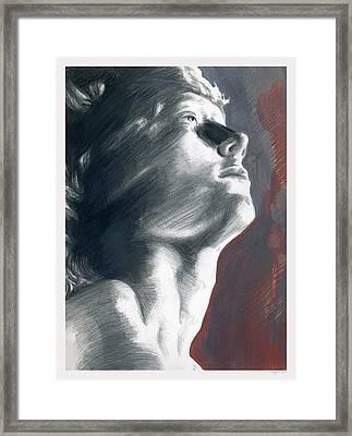 A Boy Named Faith Framed Print by Rene Capone