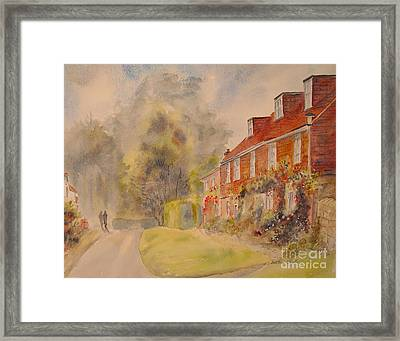 Framed Print featuring the painting A Corner Of Winchelsea by Beatrice Cloake