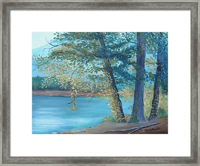 A Good Fishing Day Framed Print by Glenda Barrett