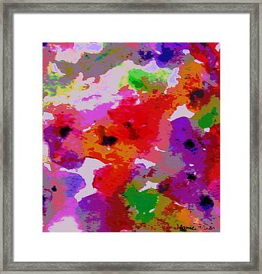 A Little Watercolor Framed Print by Jamie Frier