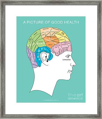 A Picture Of Good Health Framed Print