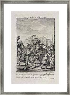 A Prisoner Framed Print by British Library
