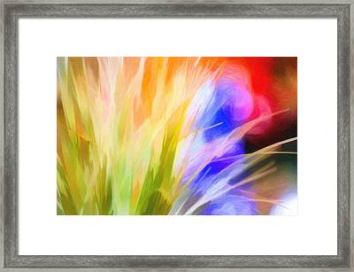 A Touch Of Simple Framed Print