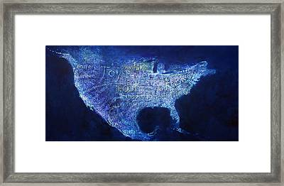 A View From Above Framed Print by Alan Schwartz