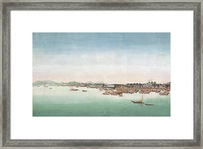 A View Of Canton Framed Print