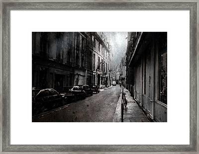 A Walk Apart Framed Print by David Fox