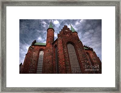 Aarhus Church Hdr Framed Print