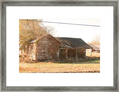 Abandoned House Framed Print