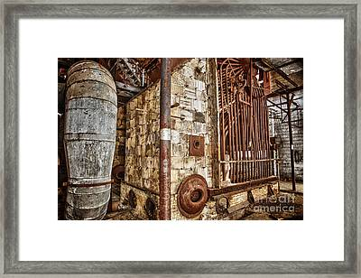 Abandoned Steam Plant Framed Print