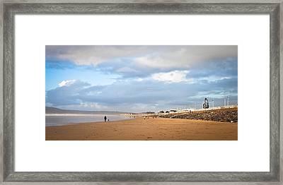 Aberafan Beach Framed Print by Tom Gowanlock