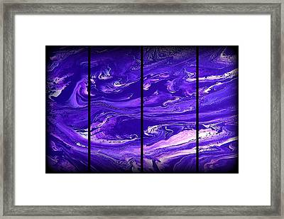 Abstract 60 Framed Print by J D Owen