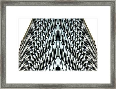 Abstract Buildings 4 Framed Print by J D Owen