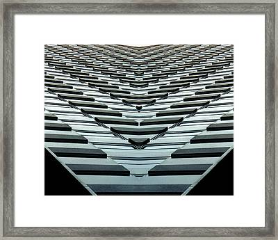 Abstract Buildings 7 Framed Print by J D Owen