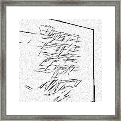 Abstract Postmodernism Framed Print