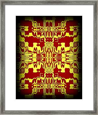 Abstract Series 3 Framed Print by J D Owen