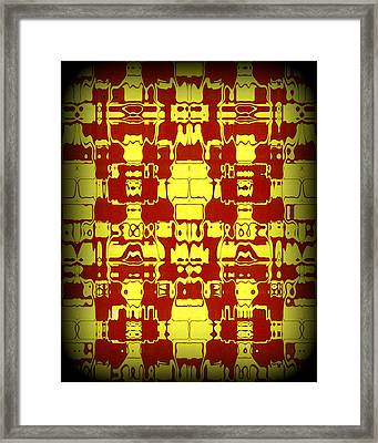 Abstract Series 4 Framed Print by J D Owen
