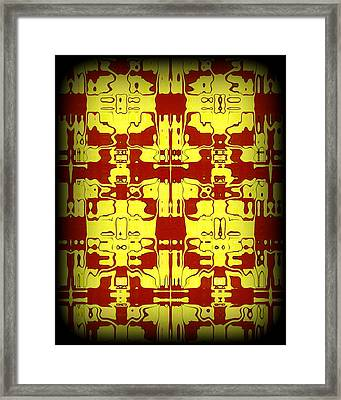 Abstract Series 5 Framed Print by J D Owen