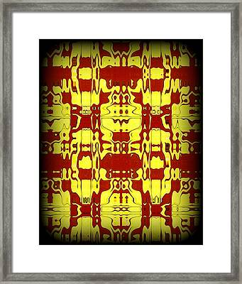 Abstract Series 6 Framed Print by J D Owen