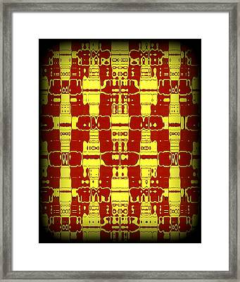 Abstract Series 7 Framed Print by J D Owen