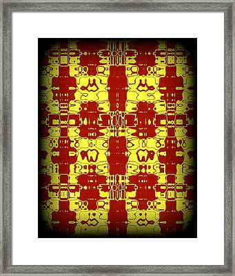 Abstract Series 8 Framed Print by J D Owen