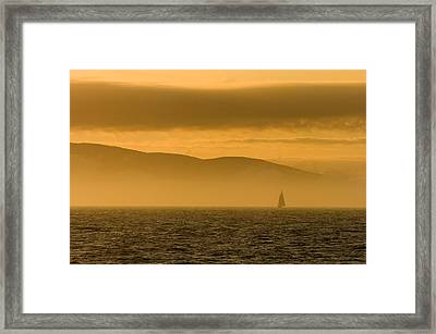 Acadia National Park Sunset Framed Print