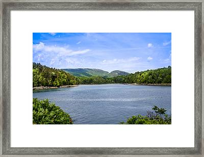 Framed Print featuring the photograph Acadia National Park by Trace Kittrell