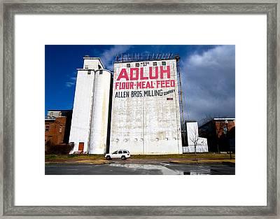Adluh Flour Framed Print by Joseph C Hinson Photography