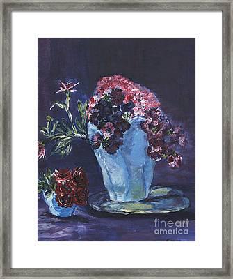Admire Framed Print by Helena Bebirian