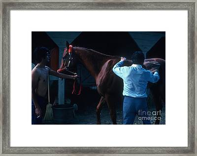 Affirmed Framed Print by Marc Bittan
