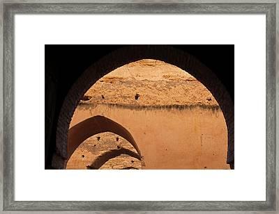Africa, Morocco, Meknes Framed Print