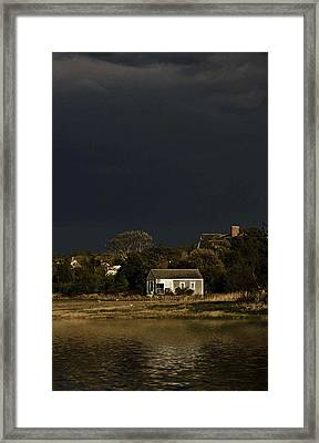 After The Storm Framed Print by Keith Woodbury